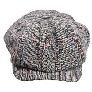 Femmes-Chapeau-d-039-Automne-Hiver-Coton-Beret-Gavroche-Casquette-Boulanger-New-A8G5