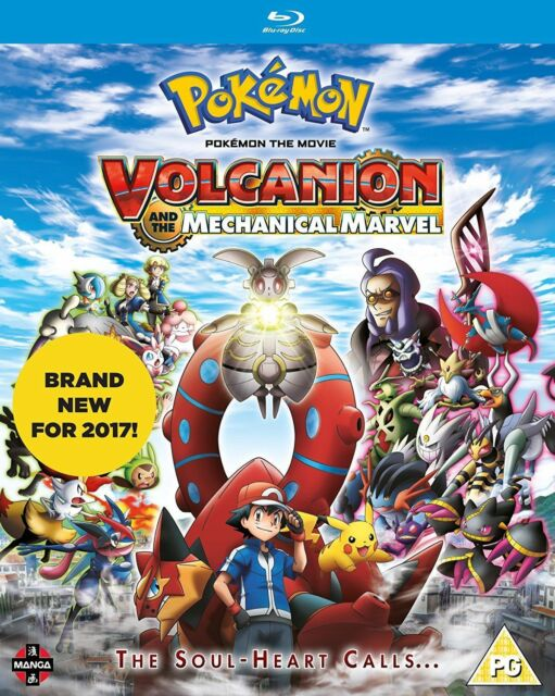Pokemon - The Movie - Volcanion And the Mechanical Marvel BLU-RAY NEW BLU-RAY (M
