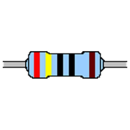 Metallschicht-Widerstand 3,9 Ohm 1/% 0,6W Bauform 0207 gegurtet