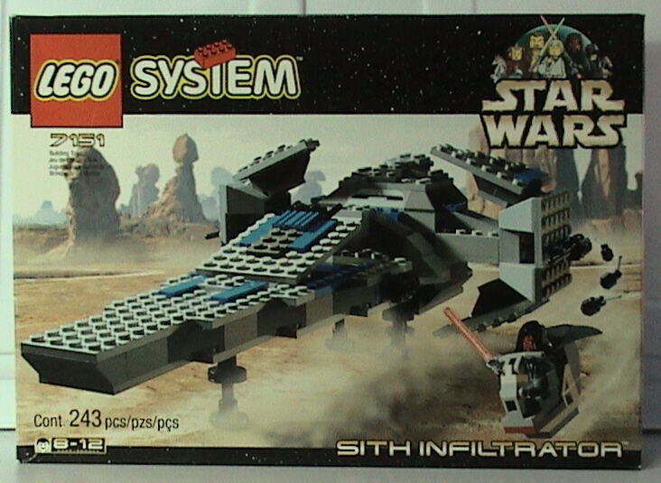 Lego Star Wars 7151 Sith Infiltrator  NEW SEALED