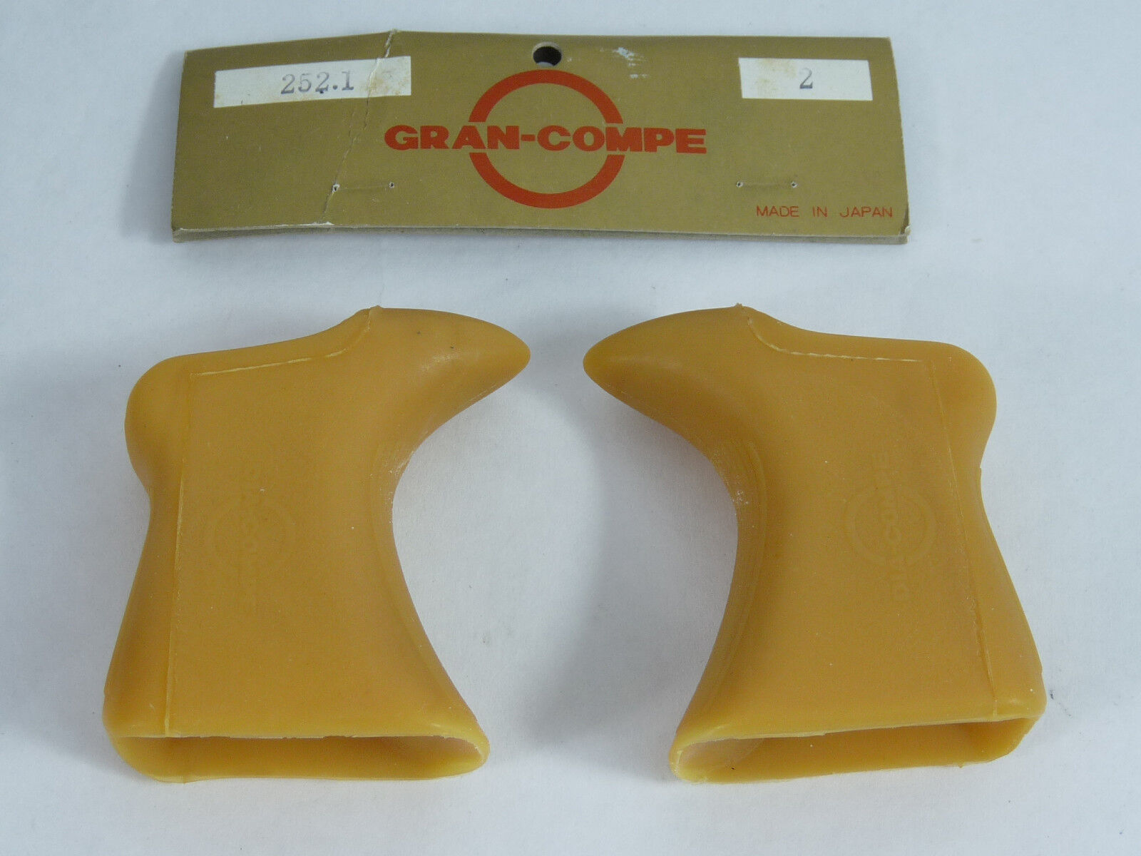 Dia Compe Hoods Aero Gran Compe  Brown Gum Vintage Road Bicycle Genuine NOS  free delivery and returns