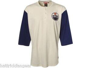 La foto se está cargando Edmonton-Oilers-Mitchell-y-Ness-NHL -BREAKAWAY-Raglan- a30a9145141