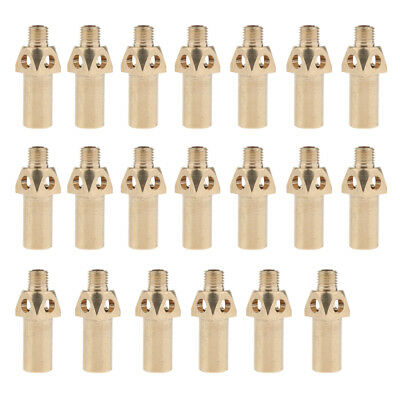 10pcs Brass Replacements Tips// Nozzles// Jets// Burners for Propane LP Gas