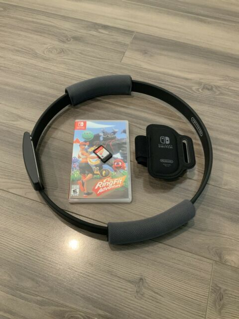 Ring Fit Adventure -- Standard Edition (Nintendo Switch, 2019) - No Box