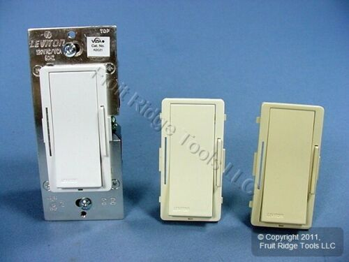 New Leviton Ivory//White//Almond Vizia RF Dimming Zone Controller Z-Wave RZCZ1-1LX