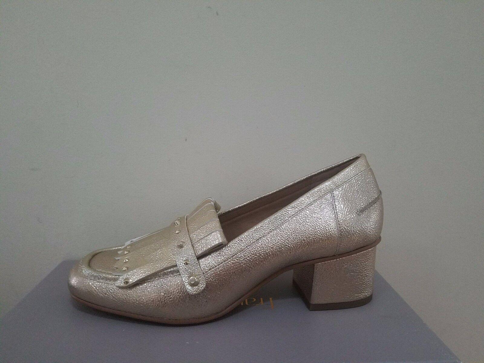Franco Sarto Lauryn Platino Heels Heels Platino Größe 8.5 NIB 0a5860