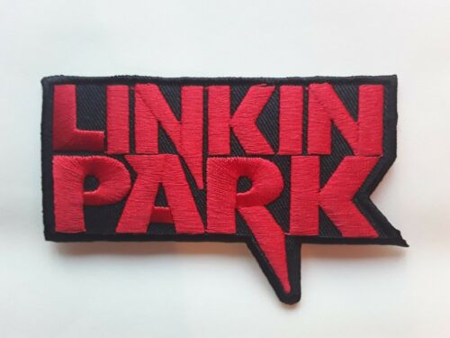 LINKIN PARK AMERICAN HEAVY METAL ROCK MUSIC BAND EMBROIDERED PATCH UK SELLER