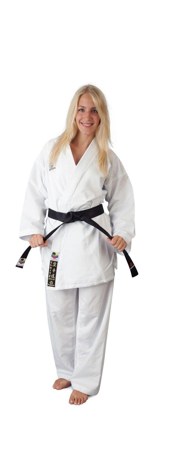 Karategi HAYASHI  Deluxe Kumite  OHNE   Schulterstick. Karateanzug WKF approved