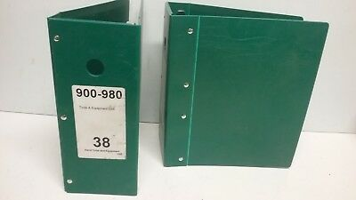 Plastic Index Dividers with View Cover, 8-tab |Heavy Equipment Binder Tab Names