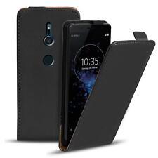 promo code 35ace 4e1a8 Flip Cover for Sony Xperia E3 Black Case Slim Back Shell Hard Mobile ...