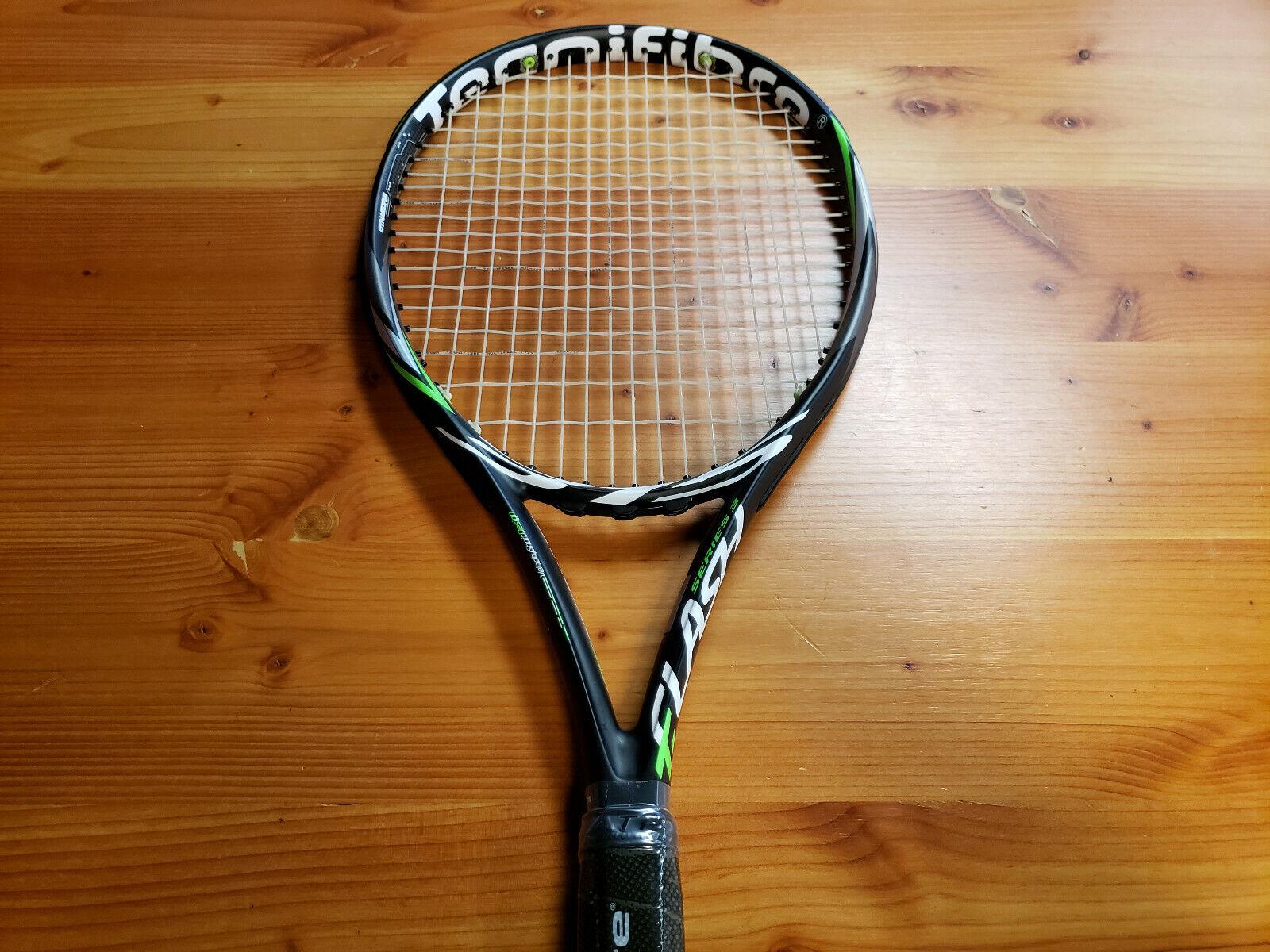Tecnifibre Tflash 315 Dynacore Tenis Raqueta Agarre Talla 4 _ 3 8