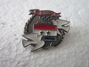 1996-ATLANTA-Olympics-SYRIA-NOC-pin-badge