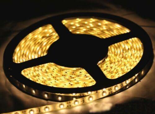 5 Meter LED Streifen Strip WARMWEIß selbstklebend flexibel 12V NEU Beleuchtung