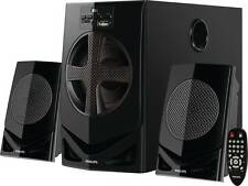 Philips MMS2030F/94 Home Audio Speaker 2.1 Channel Color Black Philips  Warnty