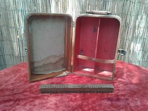 Liquor Bar Portable Suitcase Travel Vacation Vintage