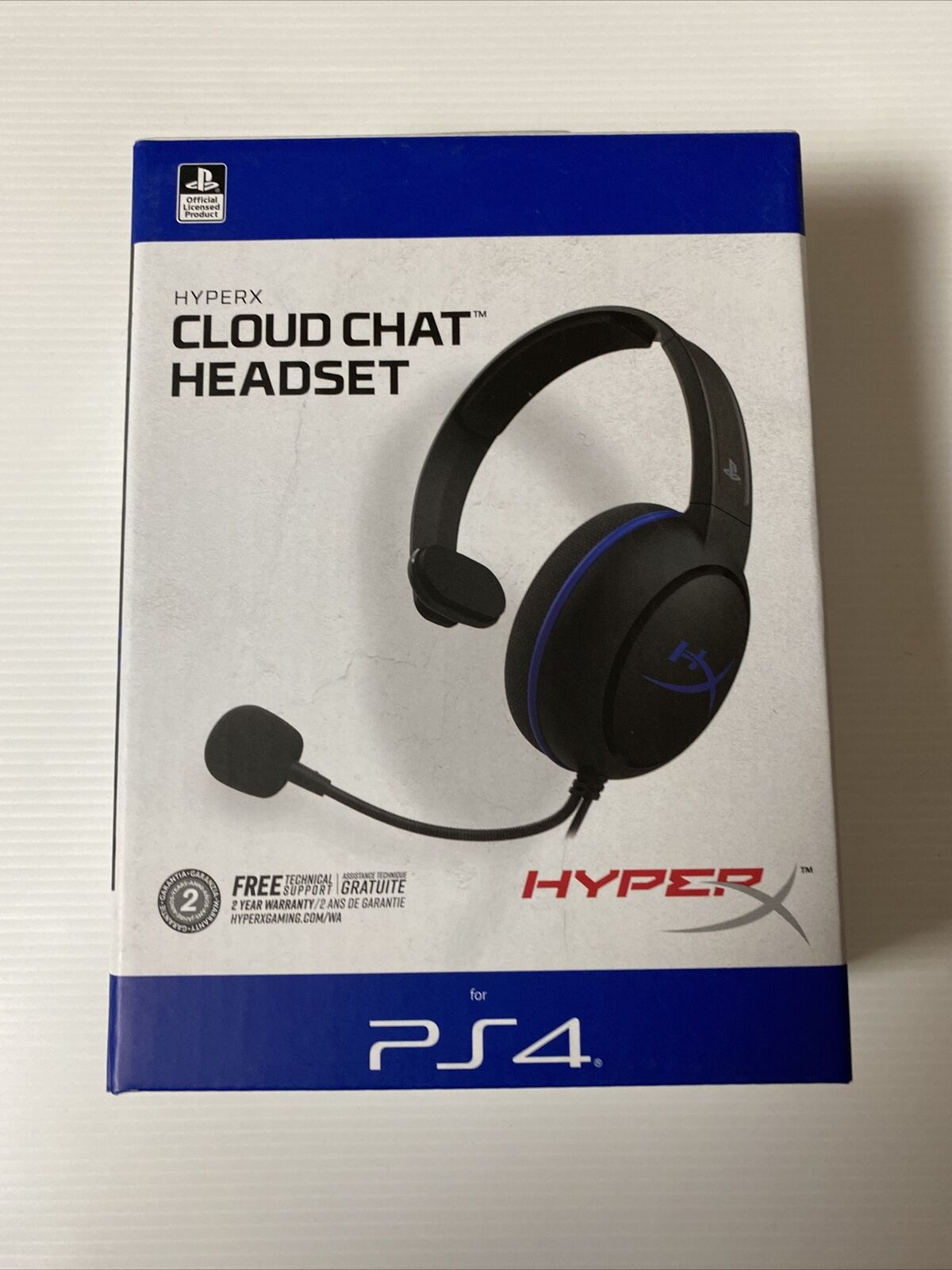 HyperX Cloud Chat Gaming Headset PS4/PS5 Official Playstation