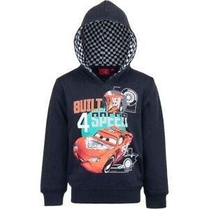 Disney PIXAR Cars Lightning McQueen BUILT 4 SPEED Kapuzenpullover Hoodie Sweater