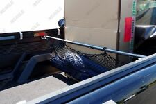 Toyota Hilux Pickup Accessories Truck Cargo Bar / Bed Divider With Net