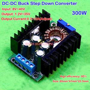 300W-12A-DC-DC-3V-9V-12V-Step-Down-Converter-Solar-Charge-LED-Drive-Car-Module