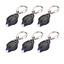 Rabi 6 Pack Mini LED Flashlight Keychain Ultra Bright Key Ring Light Torch with
