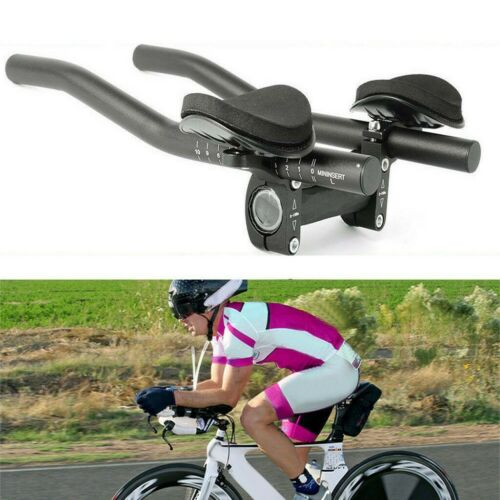 Bike Rest Handlebar TT Aero Bar Time Trial Triathlon Aerobar Rest Handlebar MTB