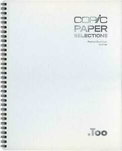 New Too Copic Paper Selection Sketchbook L size CMSKBK0912 from Japan