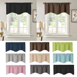 Short Curtain Kitchen Small Window, Bathroom Window Valances