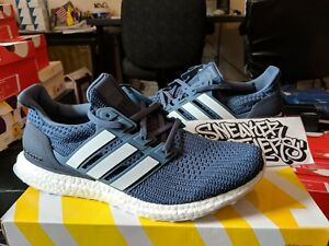 1fbcba25c2f9a Adidas Ultra Boost M 4.0 Show Your Stripes Tech Ink Running White ...