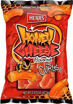 Herr's Honey Cheese Curls, 2.375 Ounce Pack of 20 | eBay