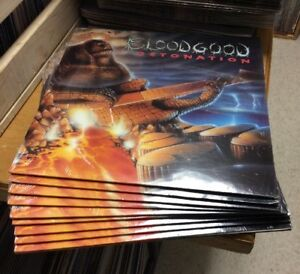 Bloodgood-Detonation-New-Sealed-Vinyl-1987-Frontline-USA-seller-Ships-Fast