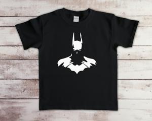 Funny Batman Children's Kids T-shirt Quality Gaming Birthday Top Tee DC New Gift