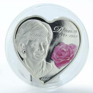 Cook Island silver 2009 8 March $5 Roses coin flowers Women/'s Day