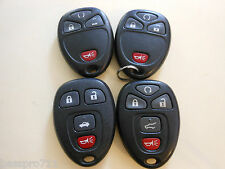 LOT OF 4 GM KEYLESS KEY REMOTE ENTRY FOB GM 15252034 15114374 22936101