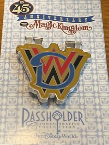 WDW-Magic-Kingdom-45th-Anniversary-Hinged-Passholder-Exclusive-Pin-Mickey-Mouse
