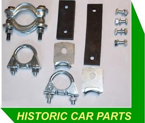 """1 1//4 /""""Dia exhaust Mounting Kit for BMC A Series Engines Classic Cars 1940s-70s"""