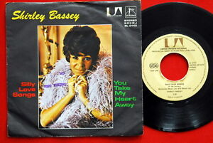 SHIRLEY-BASSEY-SILLY-LOVE-SONGS-YOU-TAKE-MY-HEART-AWAY-1977-EXYUGO-7-PS-N-MINT