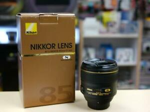 Nikon AF-S 85mm f/1.4G lens + Box - USED (ID-570-VA) Kitchener / Waterloo Kitchener Area Preview
