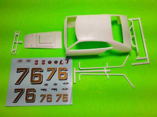Hood body shell push bumper decal 1979 Pinto Ridge Runner Modified Race Car 1//25