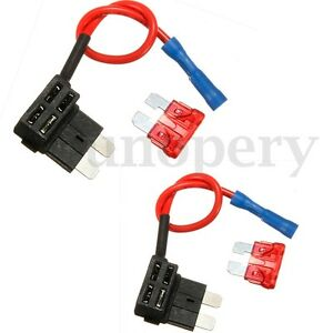 2-Pcs-12-24V-Add-Circuit-Piggy-Back-Tap-Standard-Blade-Fuse-Boxes-Holder-ATO-ATC