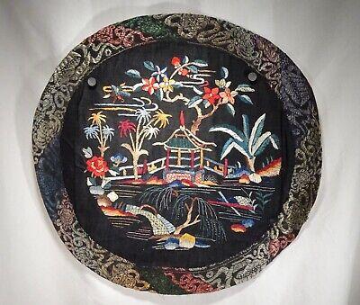 Gut Chinesisch Seide Bestickt, Pagode - 56434 Geeignet FüR MäNner Und Frauen Aller Altersgruppen In Allen Jahreszeiten