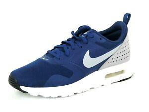 Nike-Air-Max-Tavas-814443-403-Boys-Shoes-Running-Athletic-Blue-White-Mesh-Rare