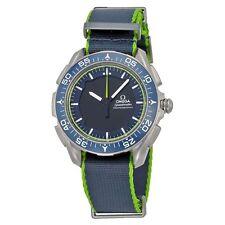 Omega Skywalker X-33 Chronograph Analog Digital Dial Blue and Green Nylon Mens