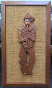 Vintage-50s-Cubist-Musician-Wall-Hanging-Art-Mid-Century-Modern-Weinberg-Era