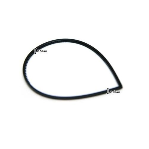 "black plastic headbands with teeth hair accessories wholesale lots 3//16/"" 5mm"
