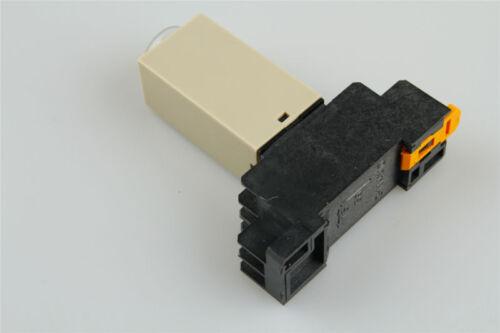 1 satz H3Y-2 DC//AC Zeitrelais Solid State Timer 10S//30S//60S//3MIN//60MIN W Sockel
