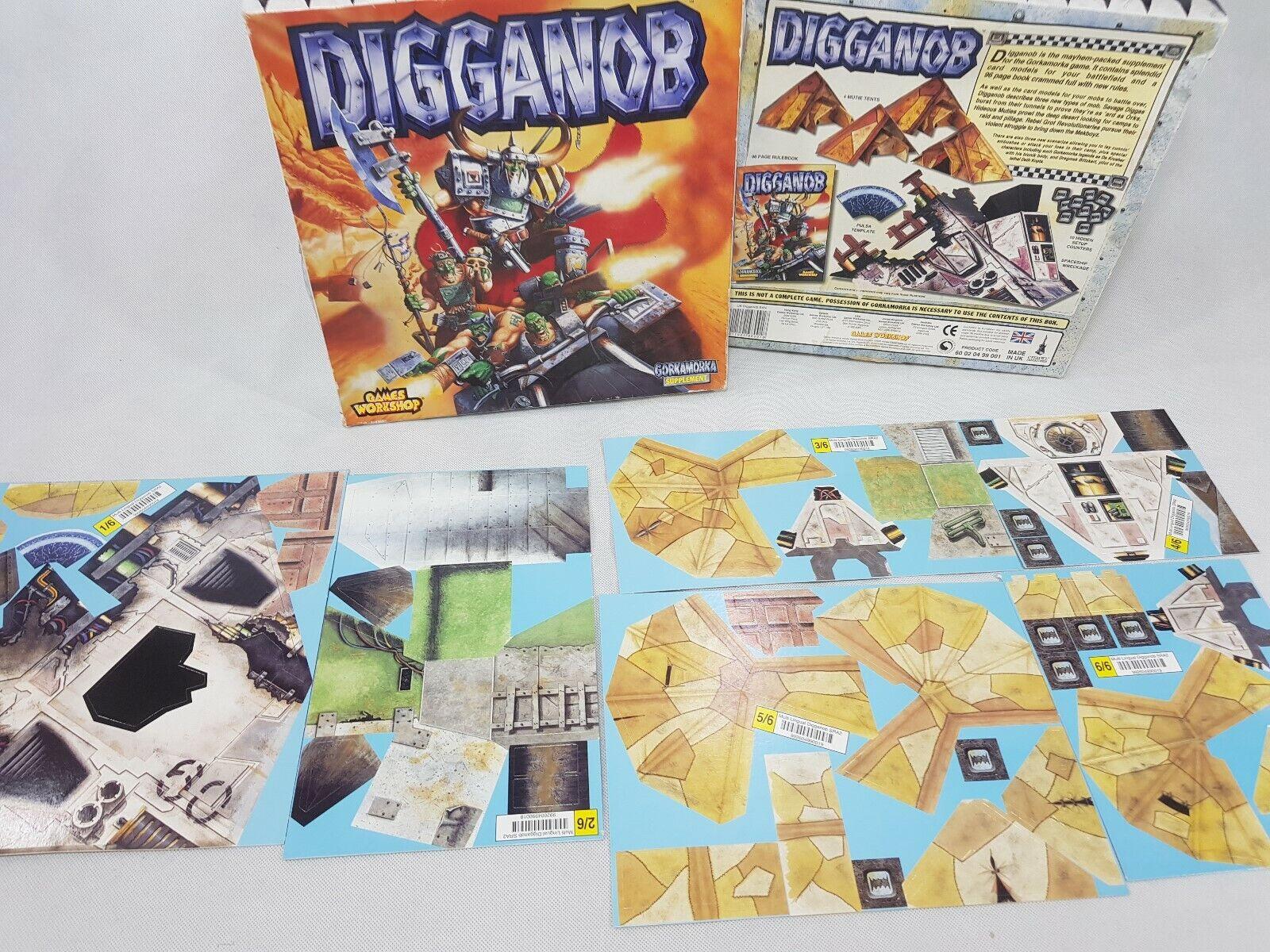 Warhammer 40k- Digganob Gorkamorka Supplement Expansion NEW Unpunched [ENG,1997]