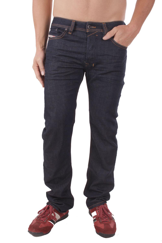 Diesel SAFADO 0r8j4 _ Elástico Pantalones Vaqueros De Hombre regular slim