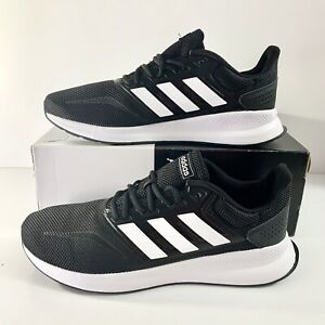 paño Sufijo Ninguna  NEW! Adidas RunFalcon Black White Sneakers Athletic Shoes F36199 Size 11.5  Men's   eBay