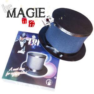 Chapeau Clap - Collapsible Top Hat- Magie