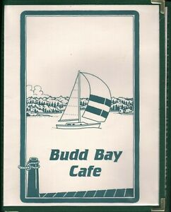 BUDD BAY CAFE Restaurant Menu Olympia Washington